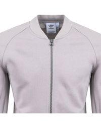 Adidas - Originals Xbyo Full Zip Sweatshirt Brown for Men - Lyst