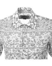 Vivienne Westwood - Gray Patterned Shirt Grey for Men - Lyst