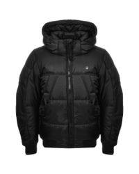 G-Star RAW - Hooded Whistler Jacket Black for Men - Lyst