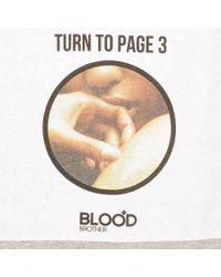Blood Brother - Red Tabloid Junkie Sweatshirt Marl for Men - Lyst