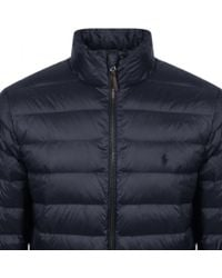 Ralph Lauren - Blue City Down Jacket Navy for Men - Lyst