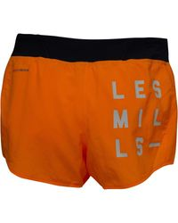 Reebok - Orange Studio Les Millstm Woven Shorts Fire Spark - Lyst