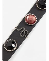 Mango - Black 2 Chokers Pack - Lyst