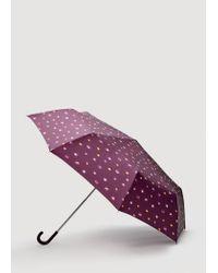 Mango | Purple Umbrella | Lyst
