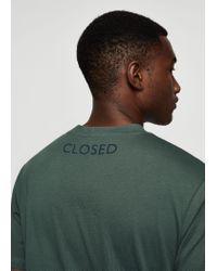 Mango - Green Image Cotton T-shirt for Men - Lyst
