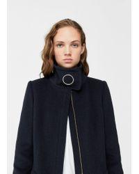 Mango | Blue Coat | Lyst
