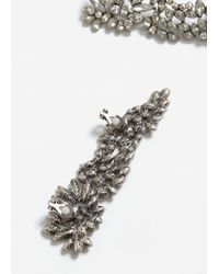Mango - Metallic Sunglasses Floral Brooch - Lyst