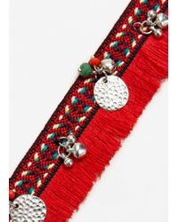 Mango - Red 2 Chokers Pack - Lyst