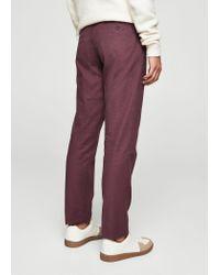 Mango - Multicolor Slim-fit Cotton Chinos for Men - Lyst