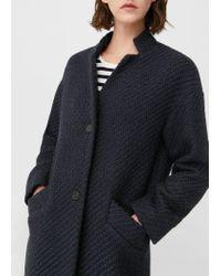 Mango - Blue Coat - Lyst