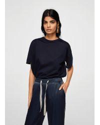 Mango - Blue Trousers - Lyst