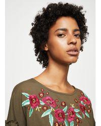 Mango - Natural Dress - Lyst
