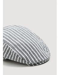 Mango - Gray Cap Mch for Men - Lyst