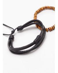 Mango | Black Mixed Bracelet Set | Lyst