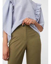 Mango - Multicolor Trousers - Lyst