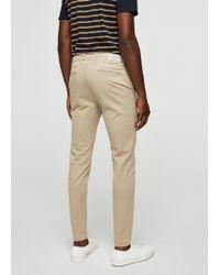 Mango - Multicolor 5-pocket Cotton Trousers - Lyst