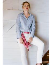 Violeta by Mango - Natural Super Slim Jeans - Lyst