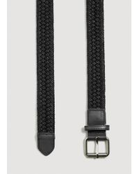 Mango - Black Belt Mch for Men - Lyst