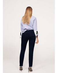 Violeta by Mango - Blue Super Slim-fit Andrea Jeans - Lyst