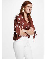 Violeta by Mango - White Jeans - Lyst