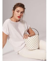 Violeta by Mango White Bag Mch