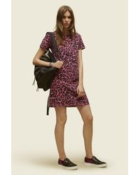Marc Jacobs | Pink Printed Patchwork T-shirt Dress | Lyst