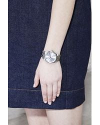 Marc Jacobs - Metallic The Henry Watch 36mm - Lyst