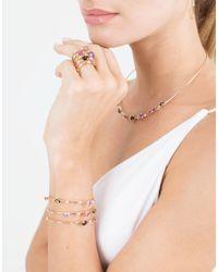 Mattia Cielo - Green Rugiada Three-circle Wrap Rainbow Bracelet - Lyst