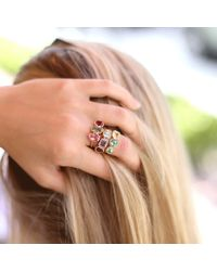 Irene Neuwirth | Multicolor Mixed Tourmaline Ring | Lyst