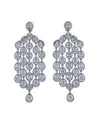 Arunashi   Multicolor Diamond Chandelier Earrings   Lyst