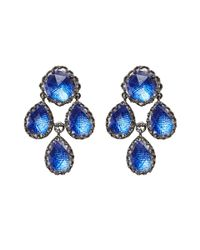 Larkspur & Hawk - Metallic Antoinette Girandole Earrings - Lyst
