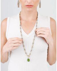 Sylva & Cie - Metallic Gold Link Necklace - Lyst