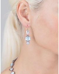 Larkspur & Hawk - Metallic Caterina 3 Drop Earrings - Lyst