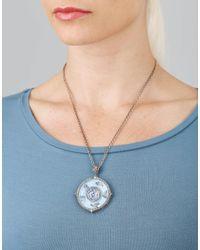 Sevan Biçakci - Metallic Carved Seagulls Necklace - Lyst