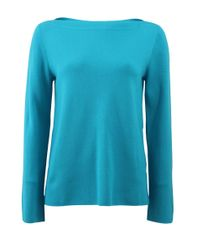 Michael Kors | Blue Super Cashmere Knit | Lyst