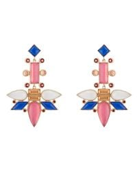 Larkspur & Hawk - Blue Cora Topsy Turvy Chandelier Earrings - Lyst