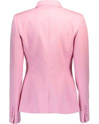 Oscar de la Renta - Pink One Button Blazer With Trouser - Lyst