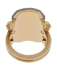 Sylva & Cie - Metallic Grey Diamond Ten Table Ring - Lyst