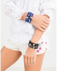 Sydney Evan | Blue Diamond Elephant Royal Jade Beaded Bracelet | Lyst