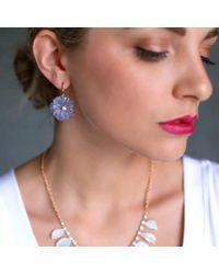 Irene Neuwirth - Metallic Carved Opal Flower Earrings - Lyst