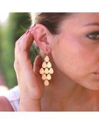 Irene Neuwirth - Metallic Nine-drop Chandelier Earrings - Lyst