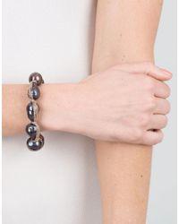 Jordan Alexander - Blue Navy Baroque Pearl Bracelet - Lyst