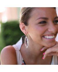 Irene Neuwirth - Pink Rose Cut Rose De France Earrings - Lyst