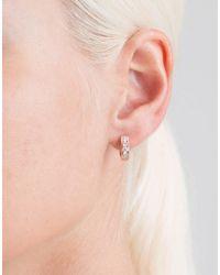 Dana Rebecca - Multicolor Diamond Huggie Earrings - Lyst