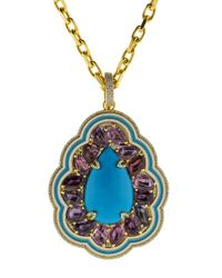 Buddha Mama - Multicolor Sleeping Beauty Turquoise Pendant - Lyst