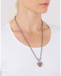Sevan Biçakci - Metallic Diamond Cross Endcap Silver Open End Chain - Lyst