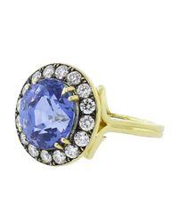 Sylva & Cie - Metallic Ring - Lyst