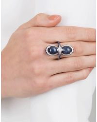 Inbar - Blue Cabochon Star Ring - Lyst