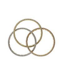 Mattia Cielo - Multicolor Universo Trio Bracelets - Lyst