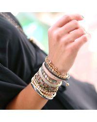 Yossi Harari - Metallic Lilah White Diamond Pave Bangle - Lyst